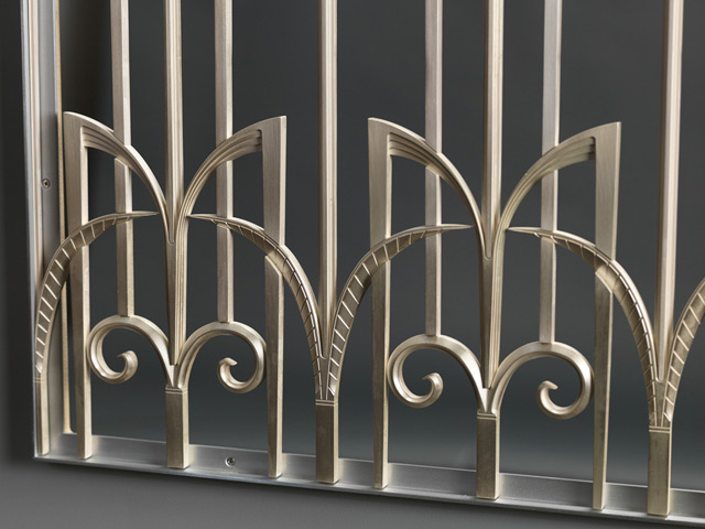 Architectural components decorative grilles